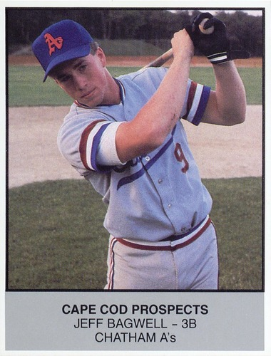 Photo of 1988 Cape Cod Prospects Ballpark #4 Jeff Bagwell