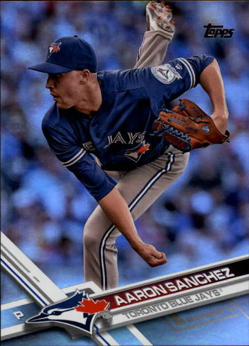 Photo of 2017 Topps Rainbow Foil #586 Aaron Sanchez