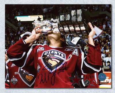 Milan Lucic Vancouver Giants Autographed Memorial Cup CHL 8x10 Photo