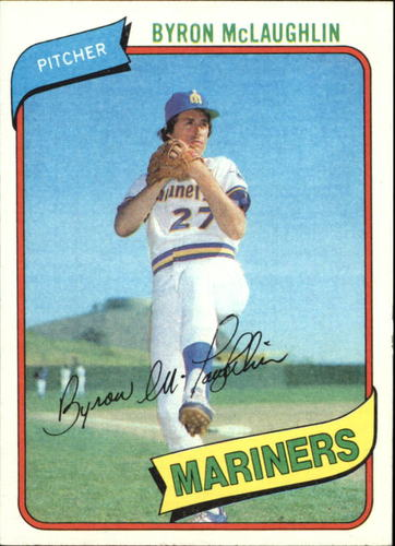 Photo of 1980 Topps #197 Byron McLaughlin