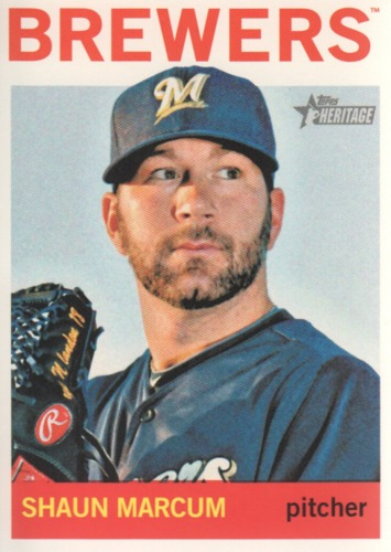 Photo of 2013 Topps Heritage #278 Shaun Marcum