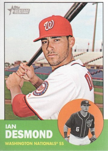 Photo of 2012 Topps Heritage #149 Ian Desmond