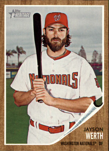 Photo of 2011 Topps Heritage #17 Jayson Werth