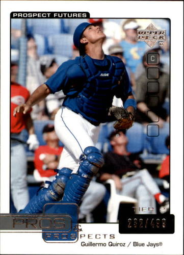 Photo of 2005 Upper Deck Pros and Prospects #157 Guillermo Quiroz T2 /499