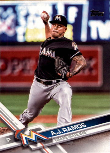 Photo of 2017 Topps #194 A.J. Ramos
