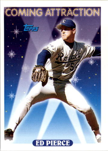 Photo of 1993 Topps #803 Ed Pierce RC