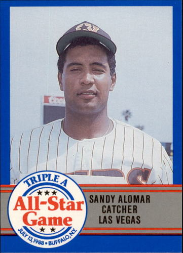 Photo of 1988 Triple A All-Stars ProCards #20 Sandy Alomar