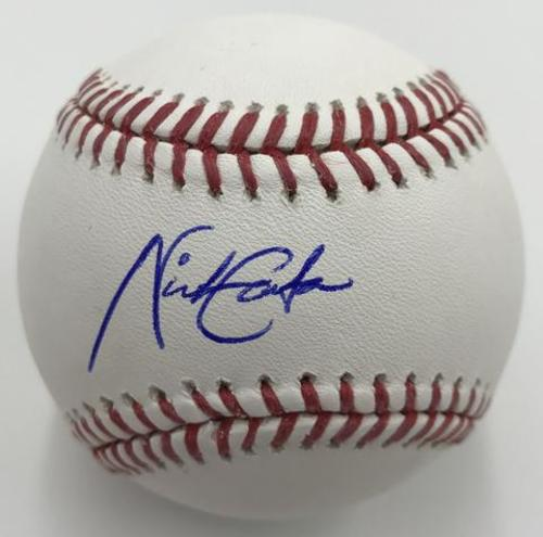 Nick Gordon Autographed Baseball