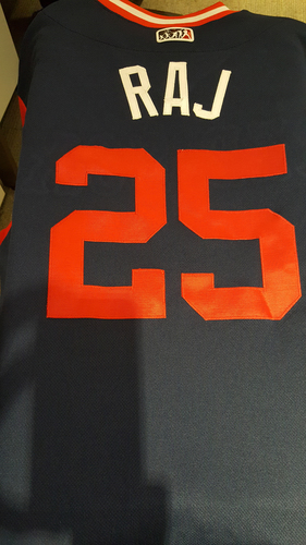 "Photo of Rajai ""Raj"" Davis Game-Used Players Weekend Jersey"
