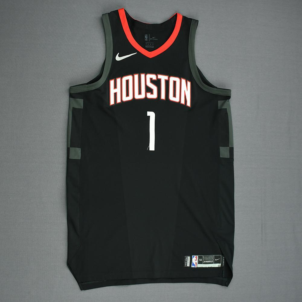 Trevor Ariza - Houston Rockets - Game-Worn 'Statement' Jersey - 2017-18 Season