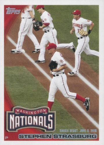Photo of 2010 Topps Update #US55 Stephen Strasburg