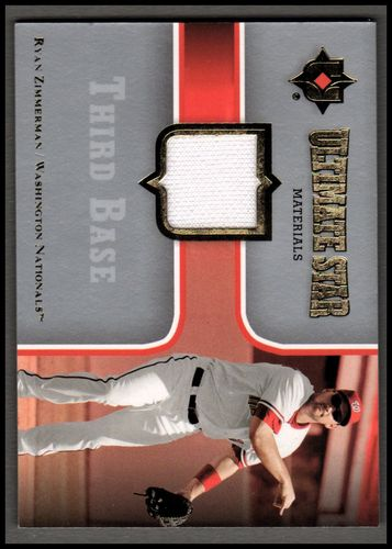 Photo of 2007 Ultimate Collection Ultimate Star Materials #RZ Ryan Zimmerman