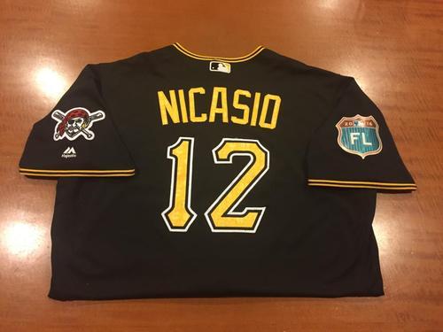 Photo of Juan Nicasio Game-Used Spring Training Jersey