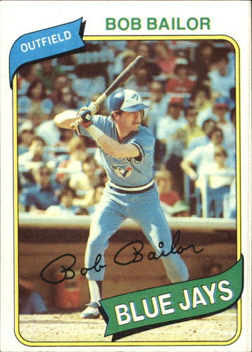 Photo of 1980 Topps #581 Bob Bailor