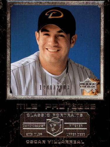 Photo of 2003 Upper Deck Classic Portraits #153 Oscar Villarreal MP RC