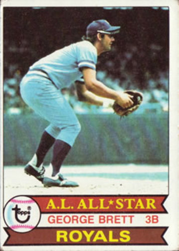 Photo of 1979 Topps #330 George Brett -- Hall of Famer