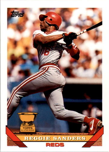 Photo of 1993 Topps #83 Reggie Sanders