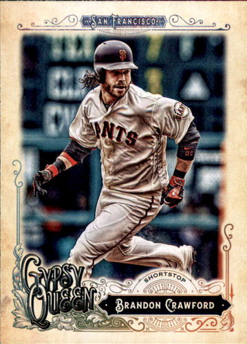 Photo of 2017 Topps Gypsy Queen #99 Brandon Crawford