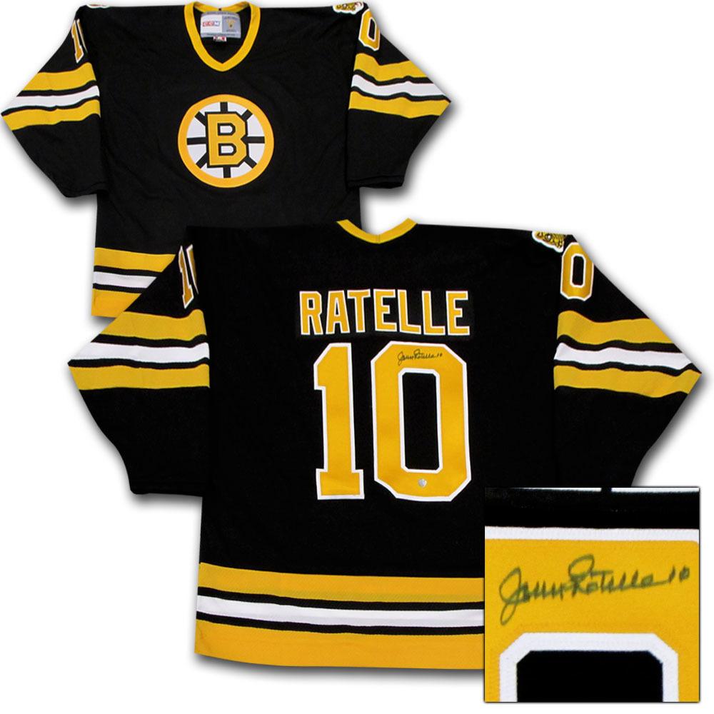 Jean Ratelle Autographed Boston Bruins Jersey