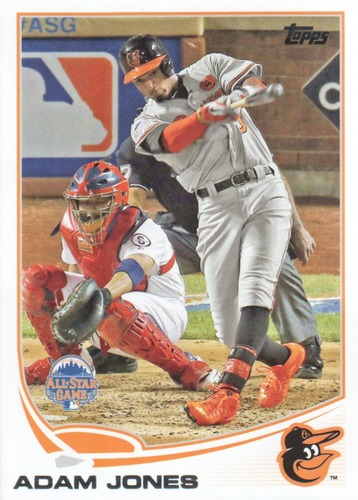 Photo of 2013 Topps Update #US72 Adam Jones