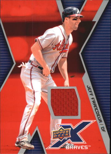 Photo of 2009 Upper Deck X Memorabilia #JF Jeff Francoeur