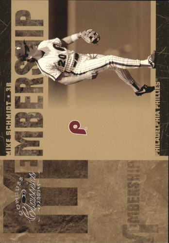 Photo of 2005 Donruss Classics Membership #26 Mike Schmidt