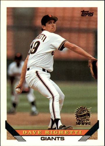 Photo of 1993 Topps Inaugural Marlins #310 Dave Righetti