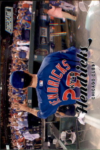 Photo of 2017 Stadium Club #123A Kyle Hendricks Cubs post-season