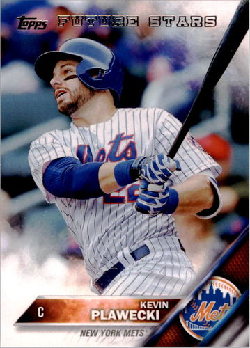 Photo of 2016 Topps #326 Kevin Plawecki FS