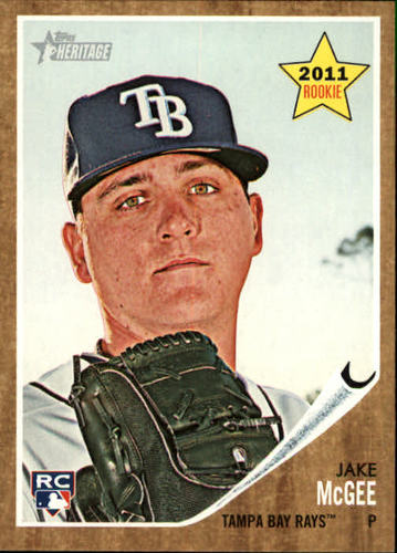 Photo of 2011 Topps Heritage #19 Jake McGee (RC)