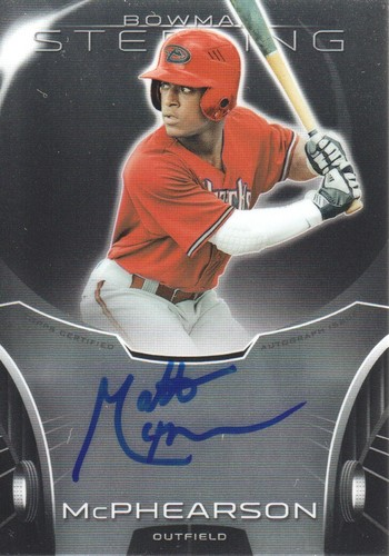 Photo of 2013 Bowman Sterling Prospect Autographs #MM Matt McPhearson