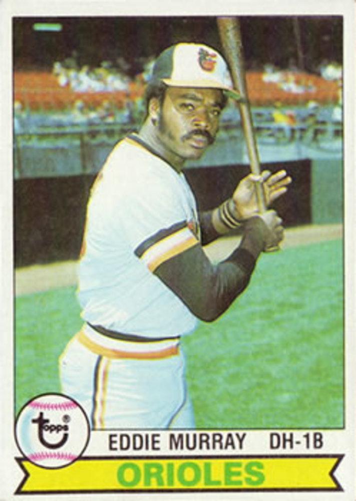 1979 Topps #640 Eddie Murray -- Hall of Famer