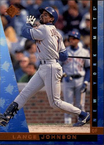 Photo of 1997 SP #118 Lance Johnson