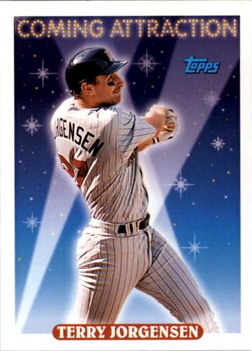 Photo of 1993 Topps #805 Terry Jorgensen