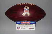 STS - BENGALS GAME USED FOOTBALL W/ STS RIBBON LOGO (NOVEMBER 20 2016)
