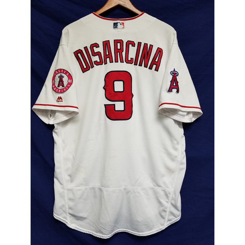Photo of Gary Disarcina 2016 Game-Used Home Jersey