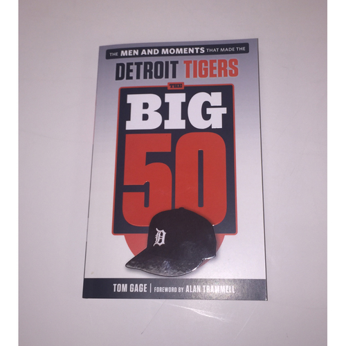 "Photo of Detroit Tigers ""The Big 50"" Written By Tom Gage"