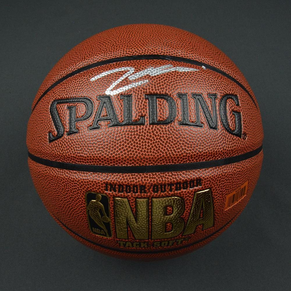 Zach Collins - Portland Trail Blazers - 2017 NBA Draft - Autographed Basketball