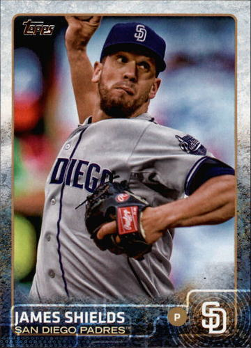 Photo of 2015 Topps #469 James Shields