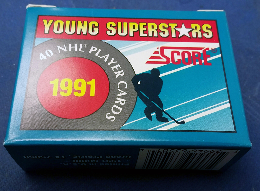 1991 Score Young Superstars Complete Hockey Card Set 1-40 *Sundin, Sakic, Jagr, Modano, Belfour, etc*