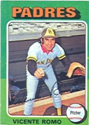 Photo of 1975 Topps #274 Vicente Romo