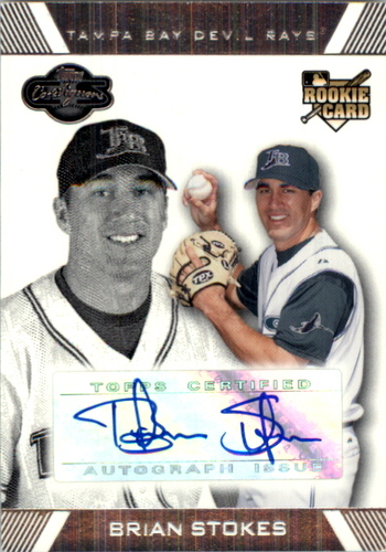 Photo of 2007 Topps Co-Signers #112 Brian Stokes AU (RC)