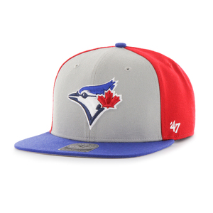 Toronto Blue Jays Amble Snapback Cap by '47 Brand