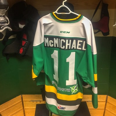 Connor McMichael Warmup Jersey