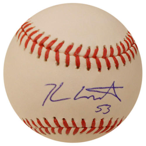 Photo of Detroit Tigers Kyle Lobstein Autographed Baseball