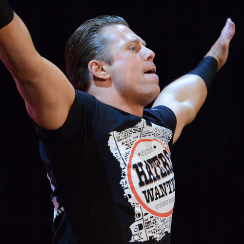 WORN & SIGNED The Miz