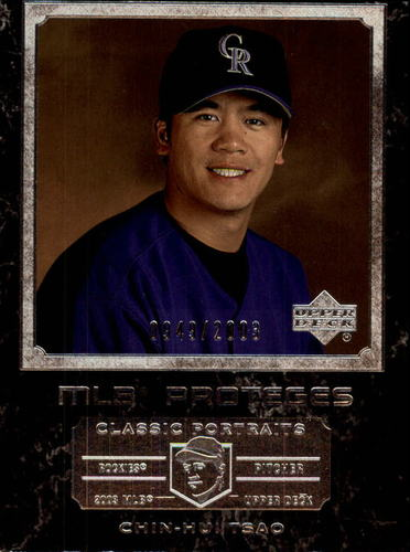 Photo of 2003 Upper Deck Classic Portraits #183 Chin-Hui Tsao MP