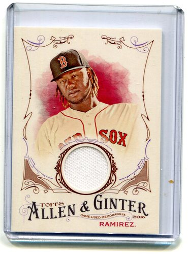 Photo of 2016 Topps Allen and Ginter Relics jersey Hanley Ramirez