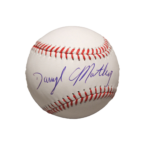 Photo of Darryl Motley Autographed Baseball