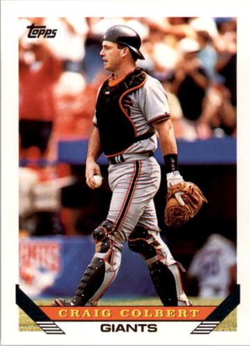 Photo of 1993 Topps #91 Craig Colbert